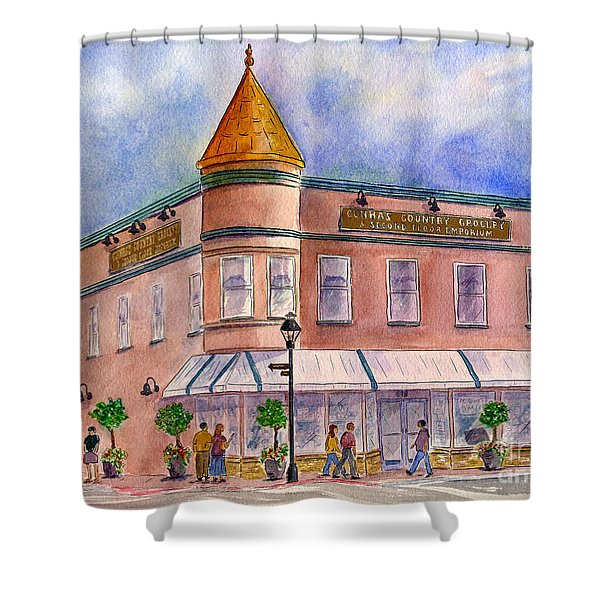 Cunha's Country Store Shower Curtain