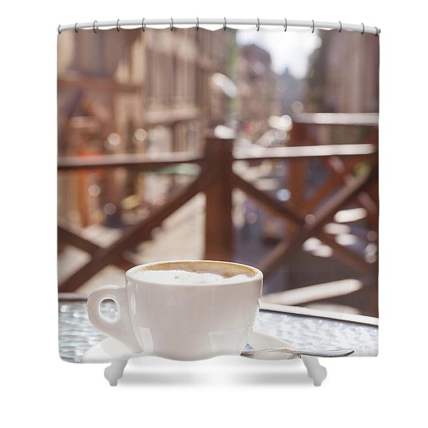 Cafe Shower Curtains For Sale