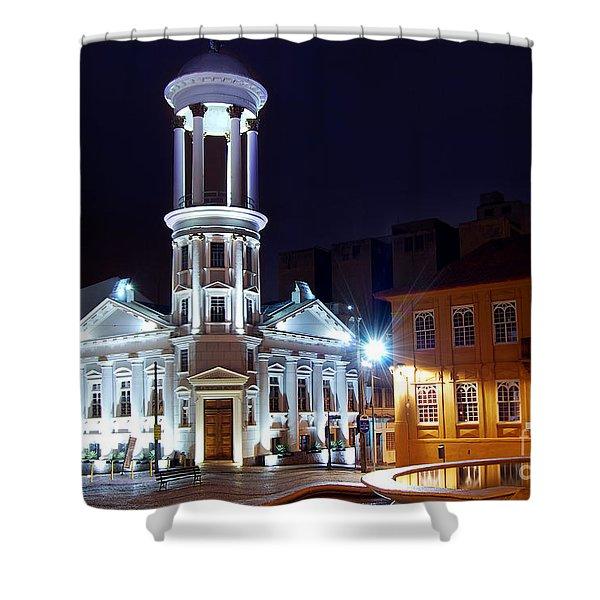 Curitiba - Centro Historico Shower Curtain