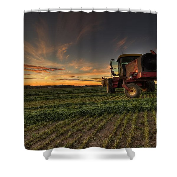 Cut To Dry Shower Curtain