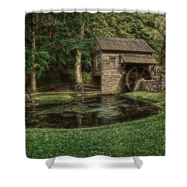 Cuttalossa Farm In Summer I Shower Curtain