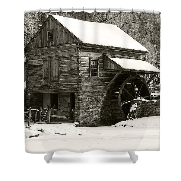 Cuttalossa In Winter Iv Shower Curtain