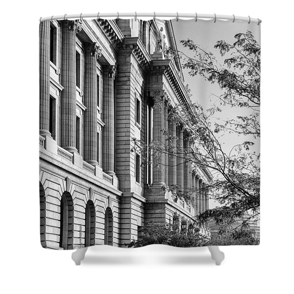 Cuyahoga County Court House Shower Curtain