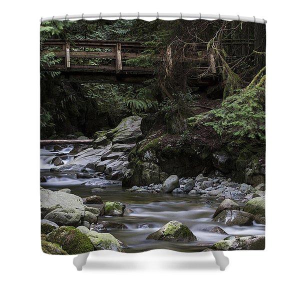 Cypress Falls Shower Curtain