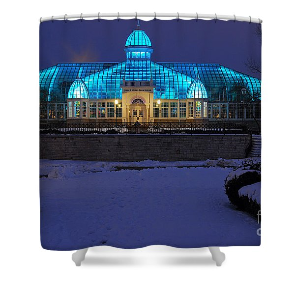 D5l-291 Franklin Park Conservatory Photo Shower Curtain
