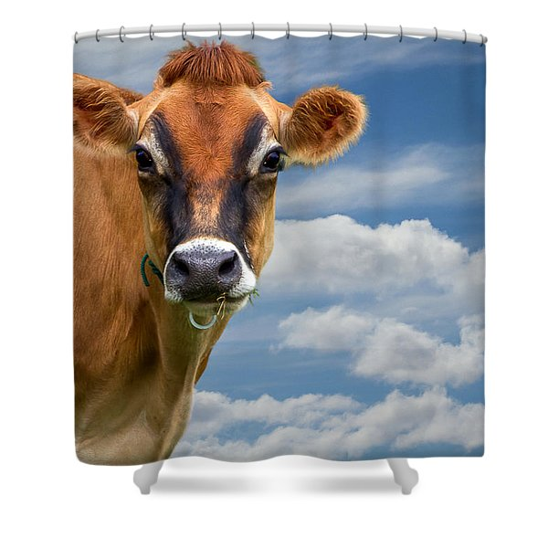 Dairy Cow  Bessy Shower Curtain