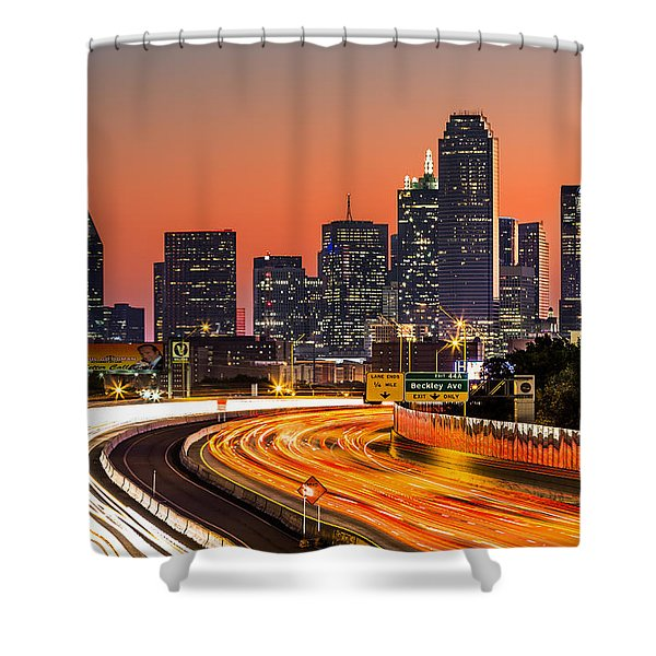 Dallas Sunrise Shower Curtain