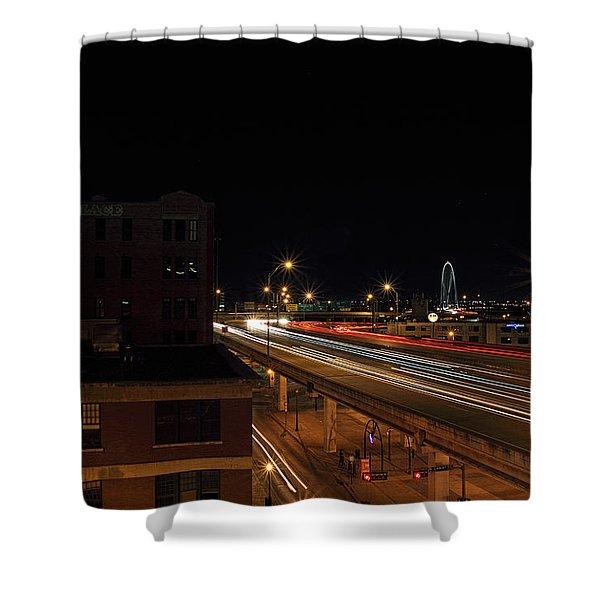 Dallas West End  Shower Curtain