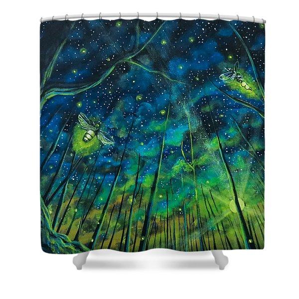 Dance The Night Away Shower Curtain