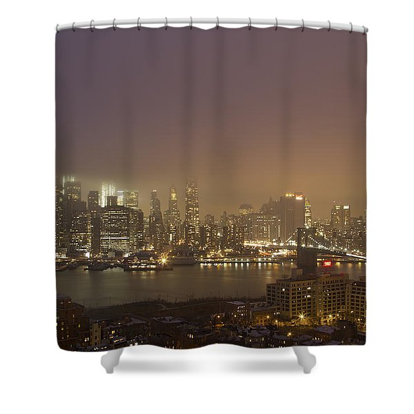 Dancing In The Mist Shower Curtain