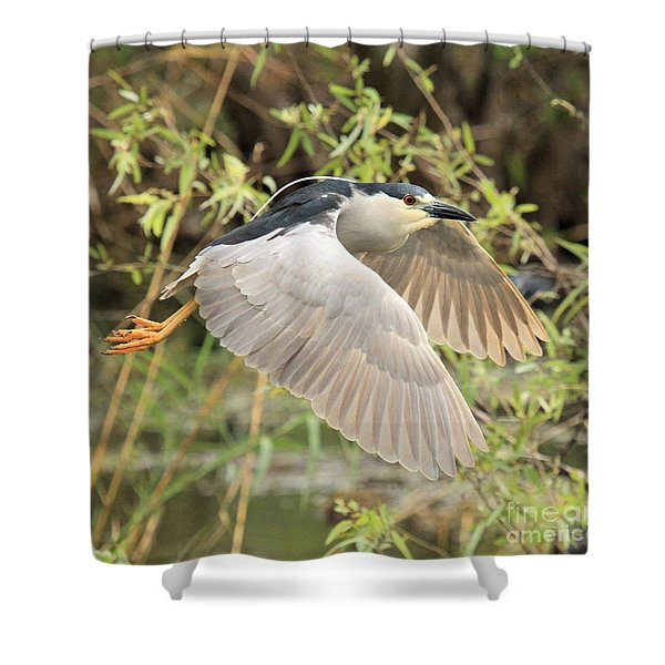 Dancing Through The Trees Shower Curtain