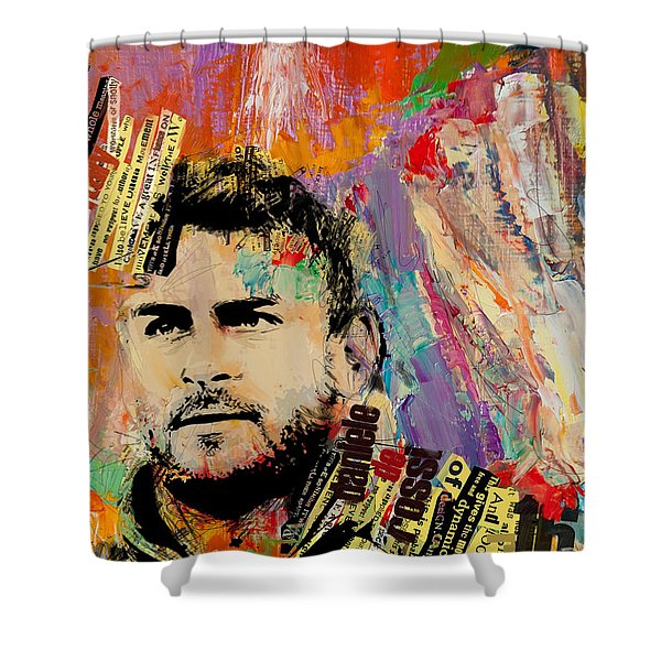 Daniele De Rossi Shower Curtain