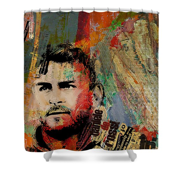 Daniele Di Rossi - B Shower Curtain