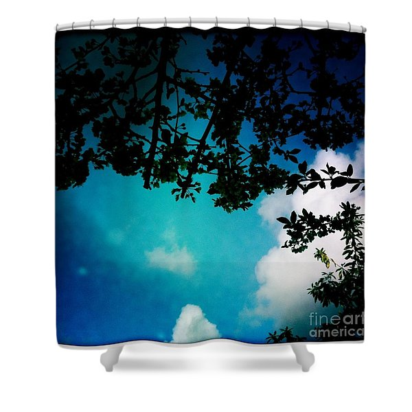 Dappled Sky Shower Curtain