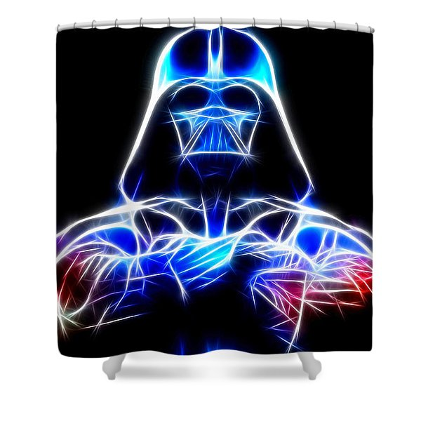 Darth Vader - The Force Be With You Shower Curtain
