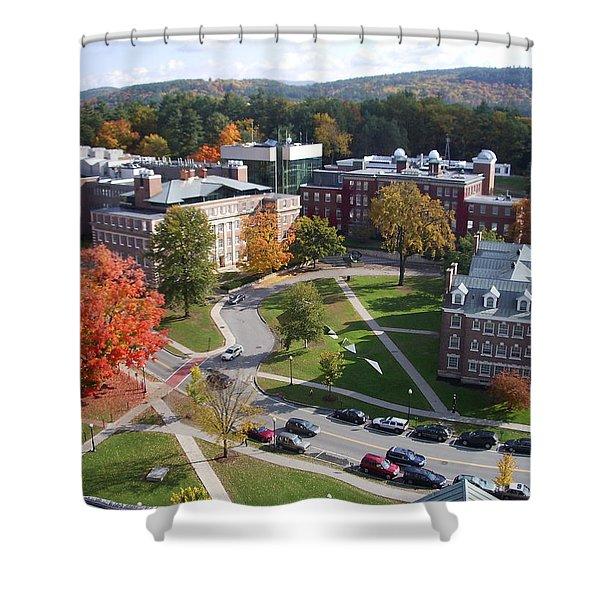 Dartmouth College Campus Shower Curtain