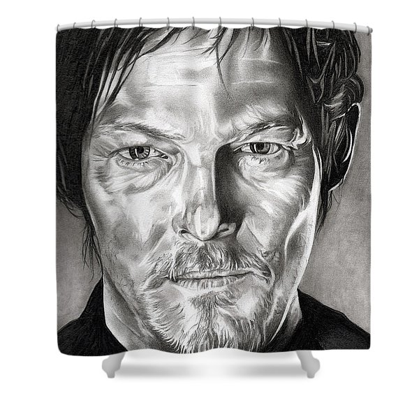 Daryl Dixon - The Walking Dead Shower Curtain