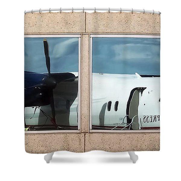 Dash Reflection Shower Curtain