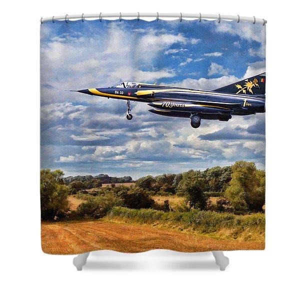 Dassault Mirage 5 Shower Curtain