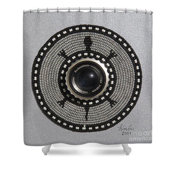 Camera Lens Shower Curtain