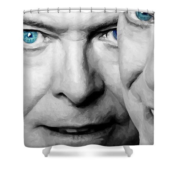 David Bowie In Clip Valentine's Day - 4 Shower Curtain