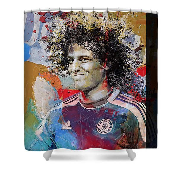 David Luiz - B Shower Curtain
