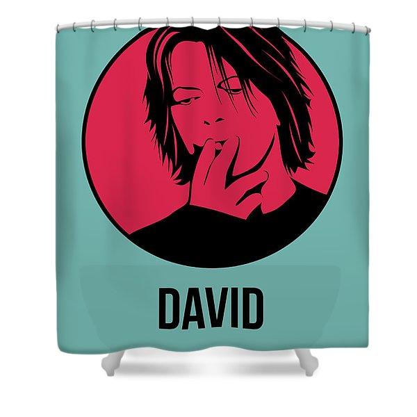 David Poster 3 Shower Curtain