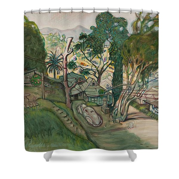 David's House Shower Curtain
