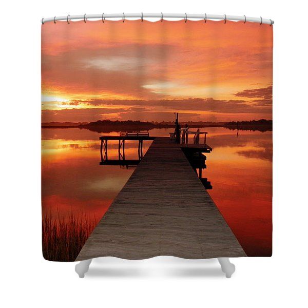 Dawn Of New Year Shower Curtain