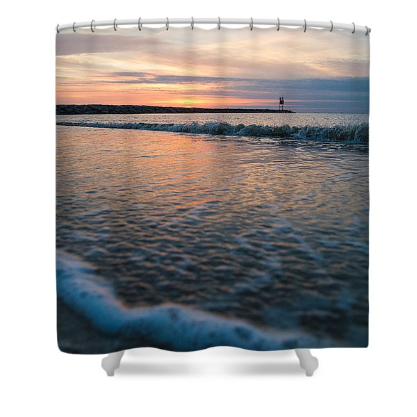 Day Done Shower Curtain