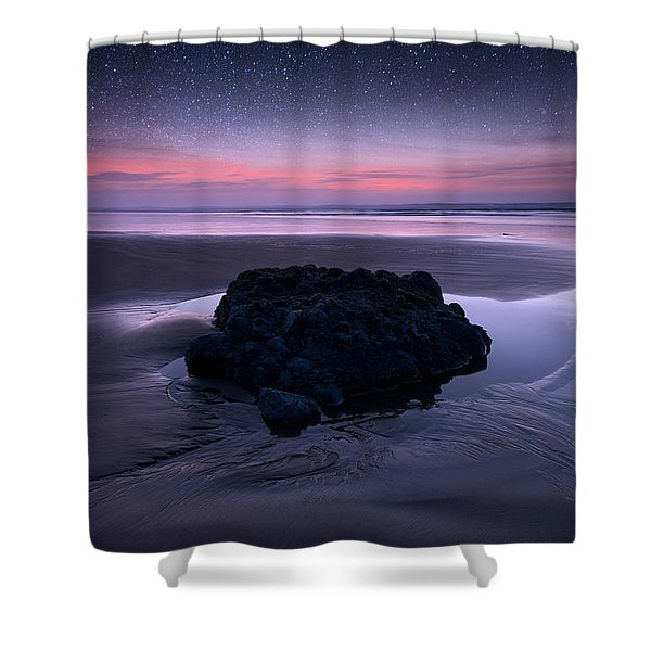 Day Fades To Night Shower Curtain