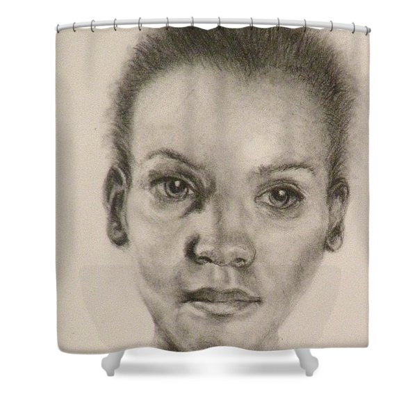 Daydreams Drawing Shower Curtain