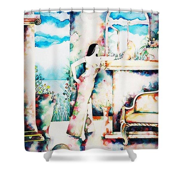 Daydreams Shower Curtain