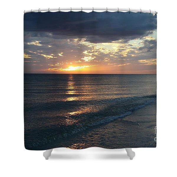 Days End Over Sanibel Island Shower Curtain