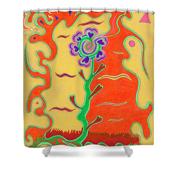 Day's Passion V18 Shower Curtain