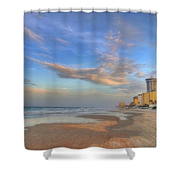 Daytona Beach Shores Shower Curtain