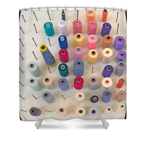 De Klos - Spooled Shower Curtain