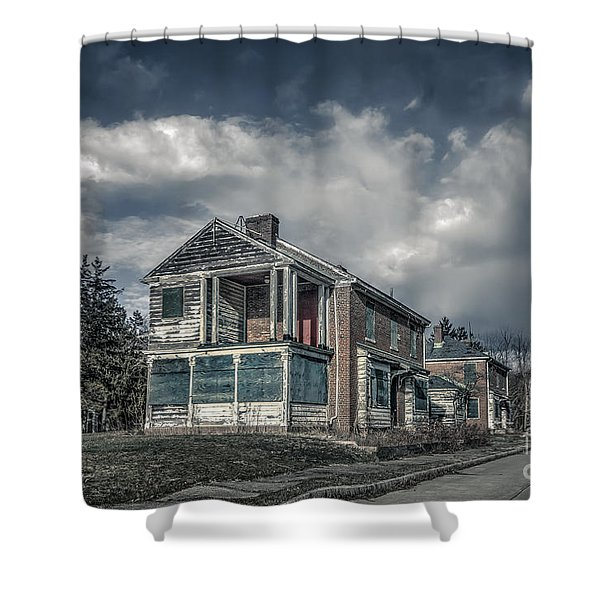 Dead End Street Shower Curtain