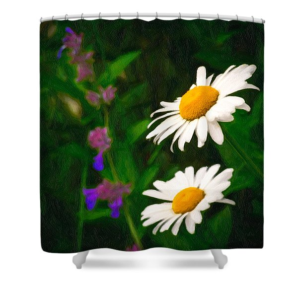Dear Daisy Shower Curtain