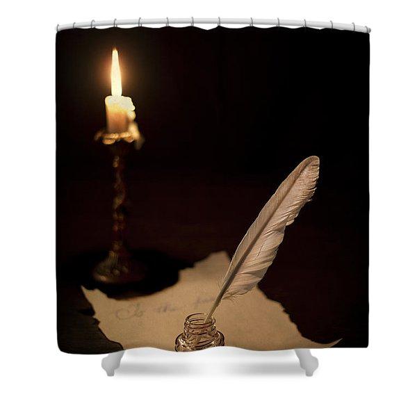 Dear Diary... Shower Curtain