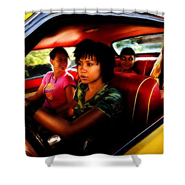 Death Proof - Quentin Tarantino - 2007 Shower Curtain