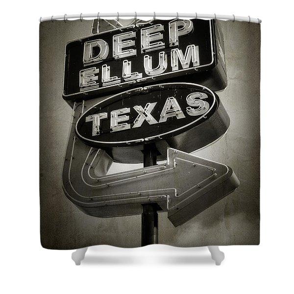 Deep Ellum Shower Curtain