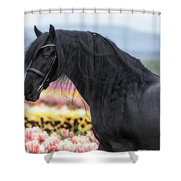 Deep In The Fields Shower Curtain