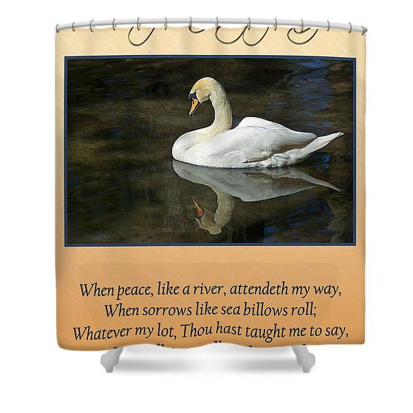 Shower Curtain featuring the photograph Deepest Sympathy Card by Carolyn Marshall