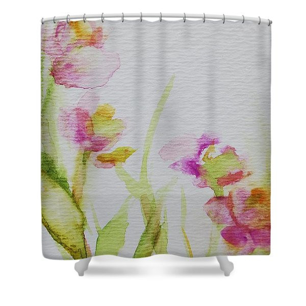 Delicate Blossoms Shower Curtain