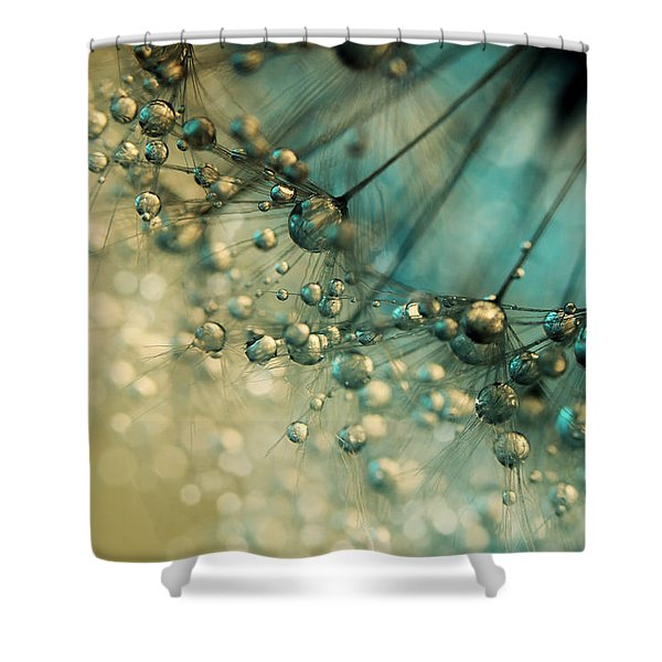 Delicious Dandy Drops Shower Curtain