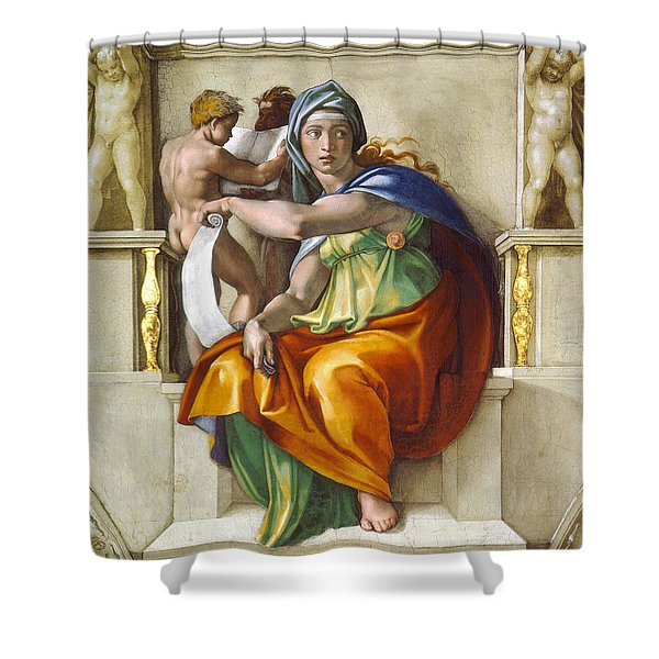 Delphic Sybil Shower Curtain