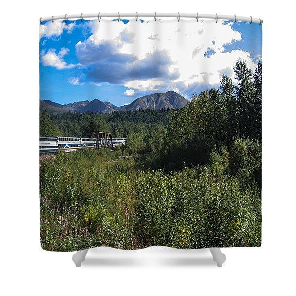 Denali Alaska Shower Curtain