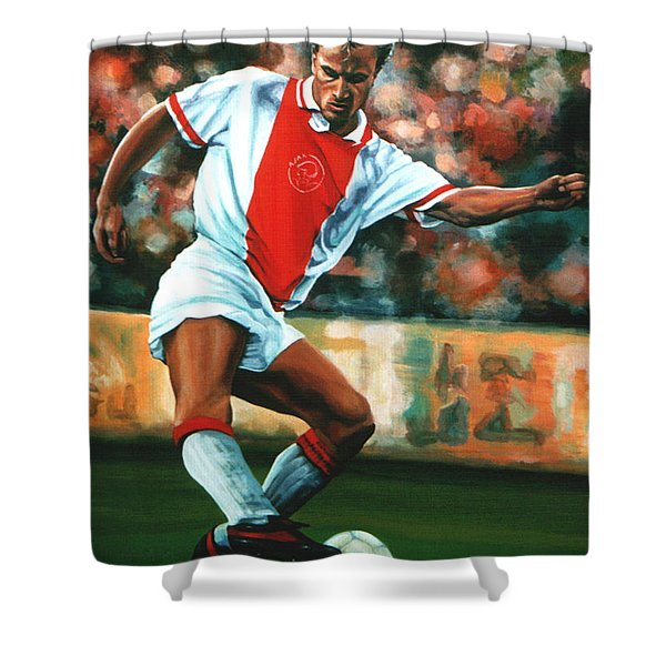Dennis Bergkamp 2 Shower Curtain