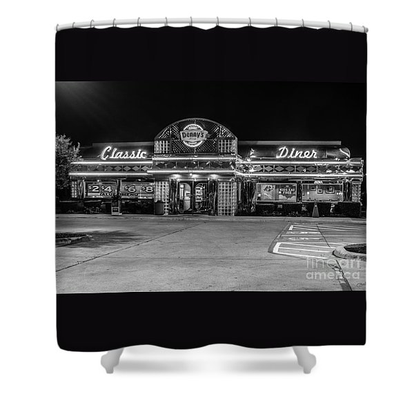 Denny's Classic Diner Shower Curtain